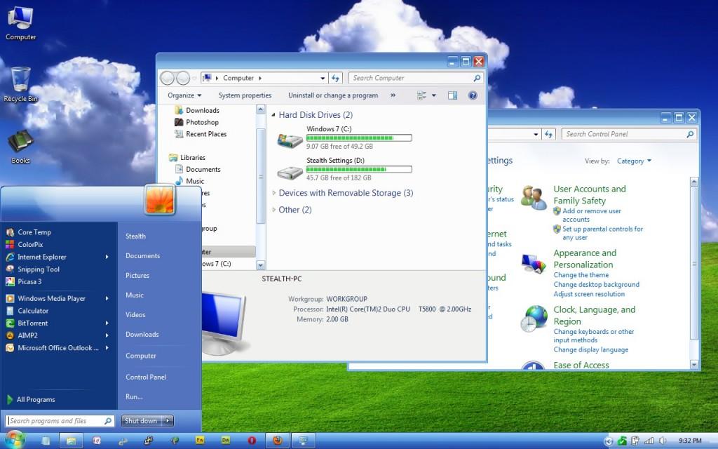 windowsxplunathemewindows7